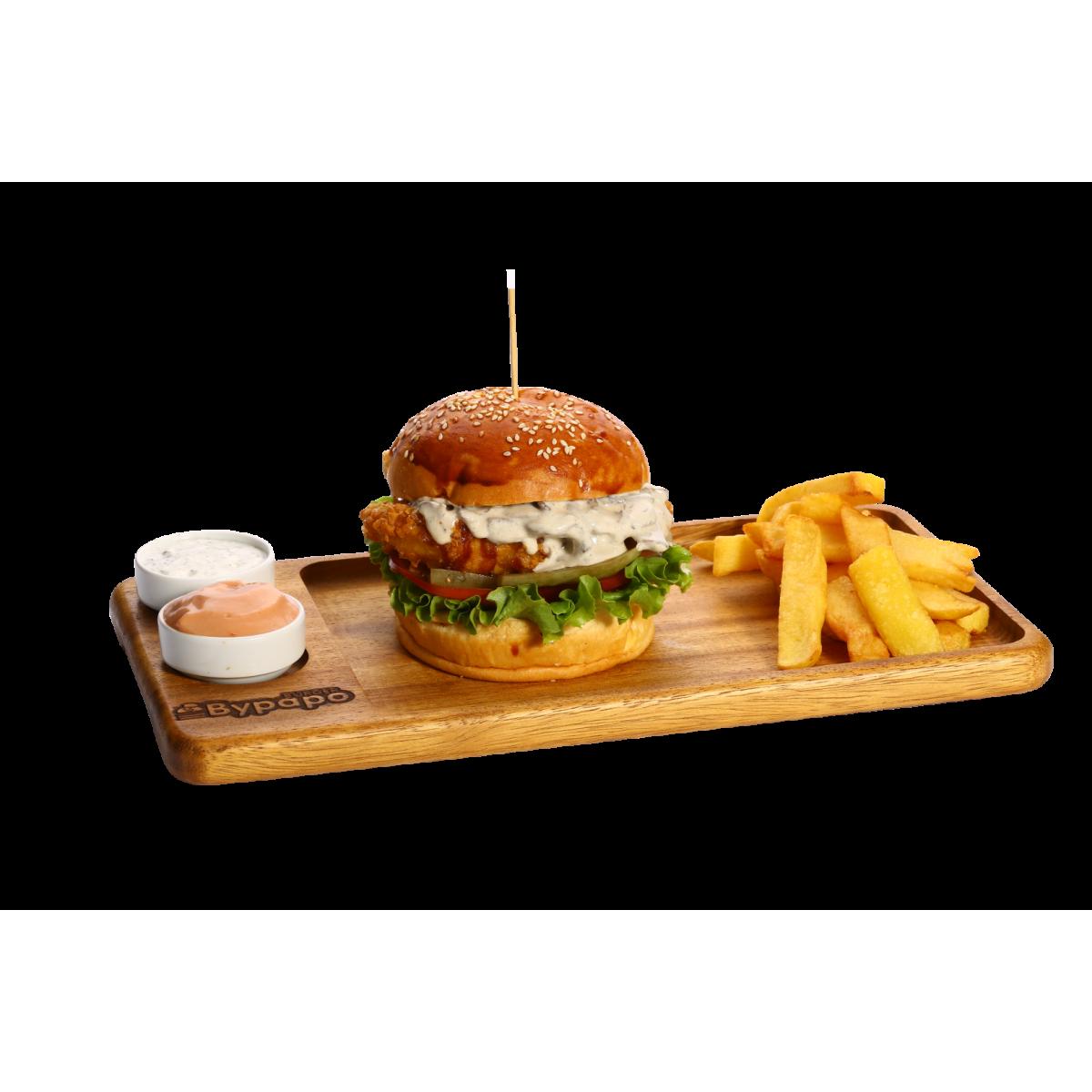 BBQ  Tavuk Burger